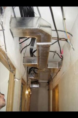 Preinstalaci n de conductos y preinstalaci n de splits for Instalacion de aire acondicionado por conductos